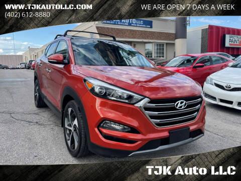 2016 Hyundai Tucson for sale at TJK Auto LLC in Omaha NE