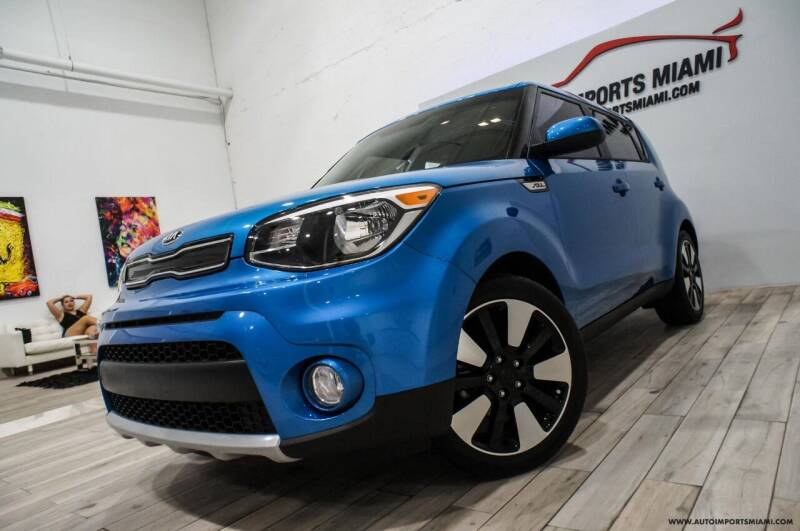 2017 Kia Soul for sale at AUTO IMPORTS MIAMI in Fort Lauderdale FL