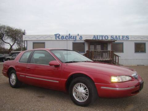 1996 Mercury Cougar for sale at Rocky's Auto Sales in Corpus Christi TX
