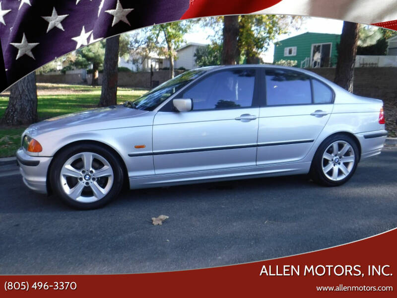 2001 BMW 3 Series for sale at Allen Motors, Inc. in Thousand Oaks CA