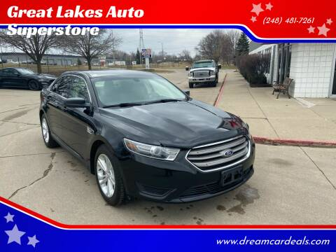 2016 Ford Taurus for sale at Great Lakes Auto Superstore in Pontiac MI