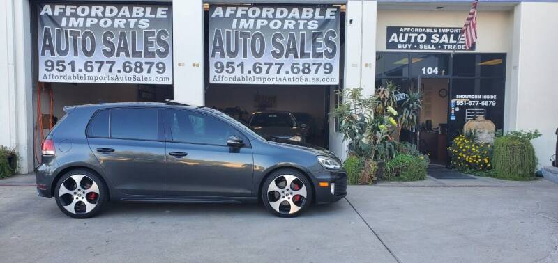 2010 Volkswagen GTI for sale at Affordable Imports Auto Sales in Murrieta CA