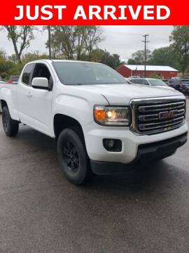 2015 GMC Canyon for sale at Monster Motors in Michigan Center MI
