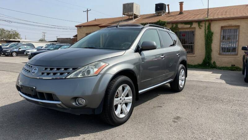 2007 Nissan Murano for sale at BARRIO MOTORS in El Paso TX