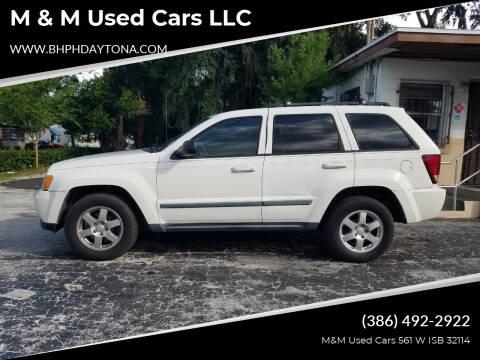 2008 Jeep Grand Cherokee for sale at M & M Used Cars LLC in Daytona Beach FL