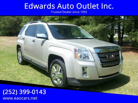 2014 GMC Terrain for sale at Edwards Auto Outlet Inc. in Wilson NC