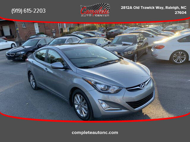 2015 Hyundai Elantra for sale at Complete Auto Center , Inc in Raleigh NC