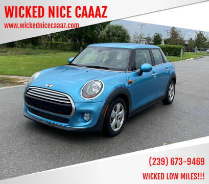 2015 MINI Hardtop 4 Door for sale at WICKED NICE CAAAZ in Cape Coral FL
