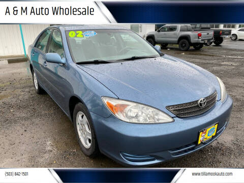 2002 Toyota Camry for sale at A & M Auto Wholesale in Tillamook OR