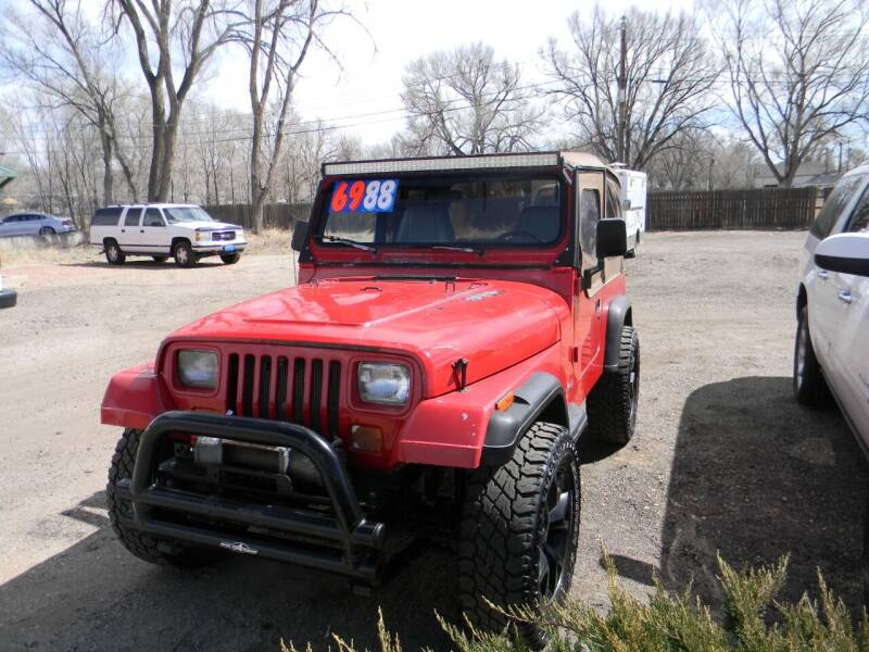 1994 Jeep Wrangler for sale at Cimino Auto Sales in Fountain CO