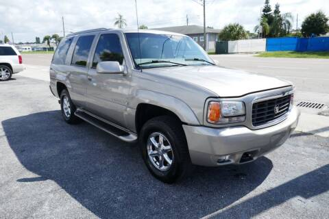 1999 Cadillac Escalade for sale at J Linn Motors in Clearwater FL