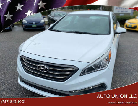 2015 Hyundai Sonata for sale at Auto Union LLC in Virginia Beach VA