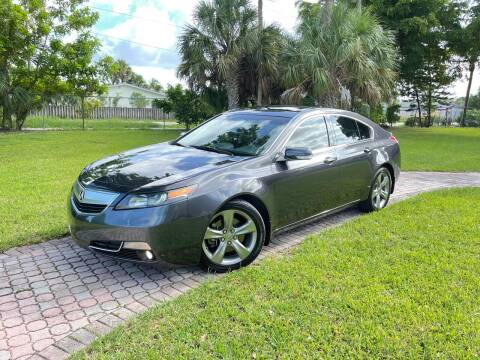 2012 Acura TL for sale at Citywide Auto Group LLC in Pompano Beach FL