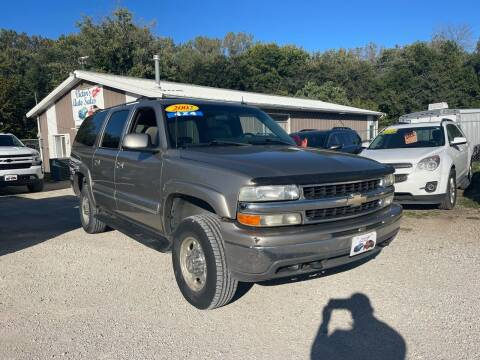 2002 Chevrolet Suburban for sale at Victor's Auto Sales Inc. in Indianola IA