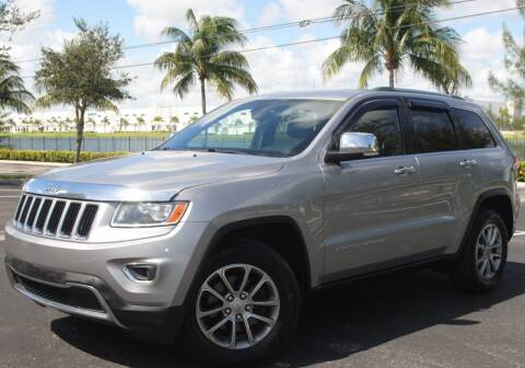 2015 Jeep Grand Cherokee for sale at Maxicars Auto Sales in West Park FL