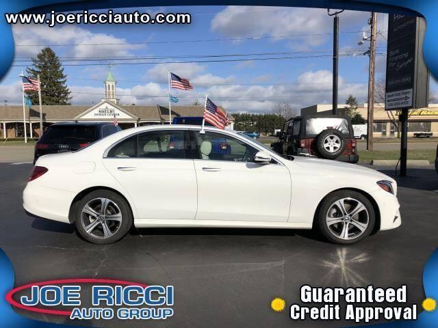 2018 Mercedes-Benz E-Class for sale at JOE RICCI AUTOMOTIVE in Clinton Township MI