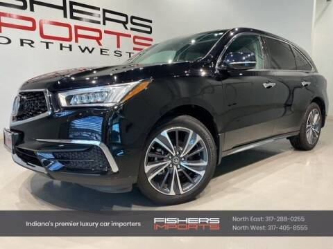 2020 Acura MDX for sale at Fishers Imports in Fishers IN