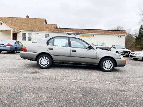 1994 Toyota Corolla for sale at New Wave Auto of Vineland in Vineland NJ