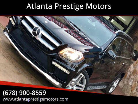 2013 Mercedes-Benz GL-Class for sale at Atlanta Prestige Motors in Decatur GA