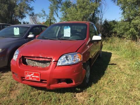 2007 Chevrolet Aveo for sale at BARNES AUTO SALES in Mandan ND