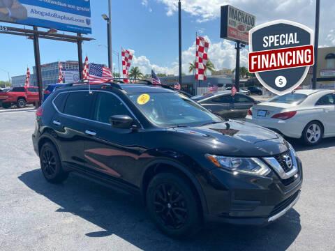 2017 Nissan Rogue for sale at MACHADO AUTO SALES in Miami FL