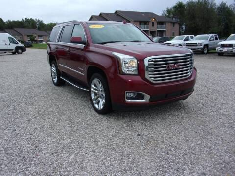 2017 GMC Yukon for sale at BABCOCK MOTORS INC in Orleans IN