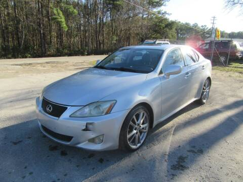 2008 Lexus IS 250 for sale at Bullet Motors Charleston Area in Summerville SC