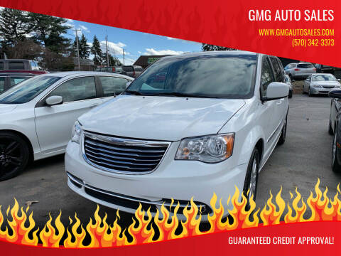 2016 Chrysler Town and Country for sale at GMG AUTO SALES in Scranton PA
