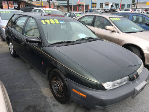 1999 Saturn S-Series for sale at American Dream Motors in Everett WA