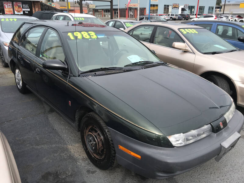 1999 Saturn S-Series for sale at American Dream Motors in Everett WA