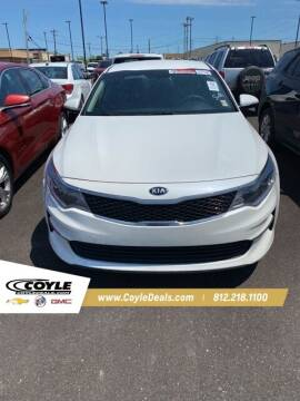 2016 Kia Optima for sale at COYLE GM - COYLE NISSAN - New Inventory in Clarksville IN