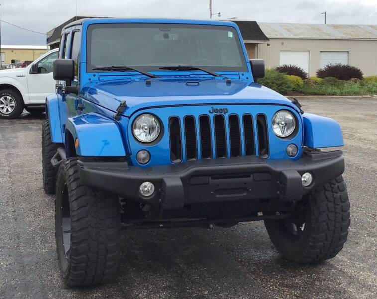 2016 Jeep Wrangler Unlimited for sale at RAP Automotive in Goshen IN