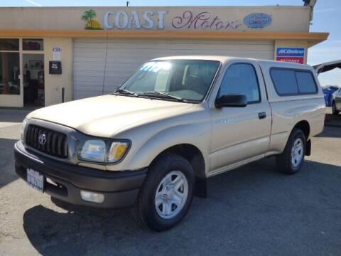 2003 Toyota Tacoma for sale at Coast Motors in Arroyo Grande CA