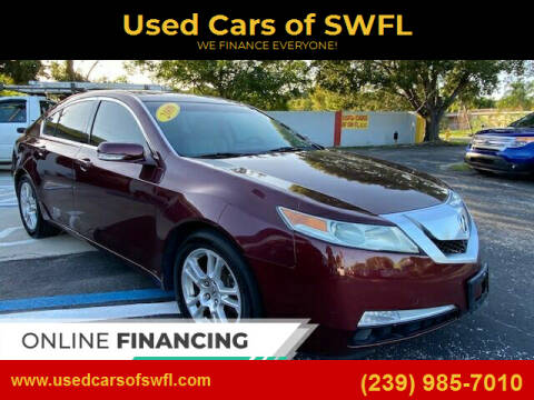 2009 Acura TL for sale at Used Cars of SWFL in Fort Myers FL