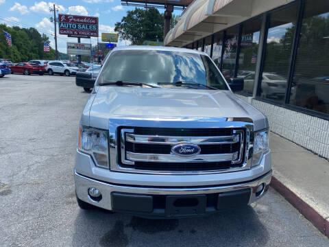 2014 Ford F-150 for sale at J Franklin Auto Sales in Macon GA