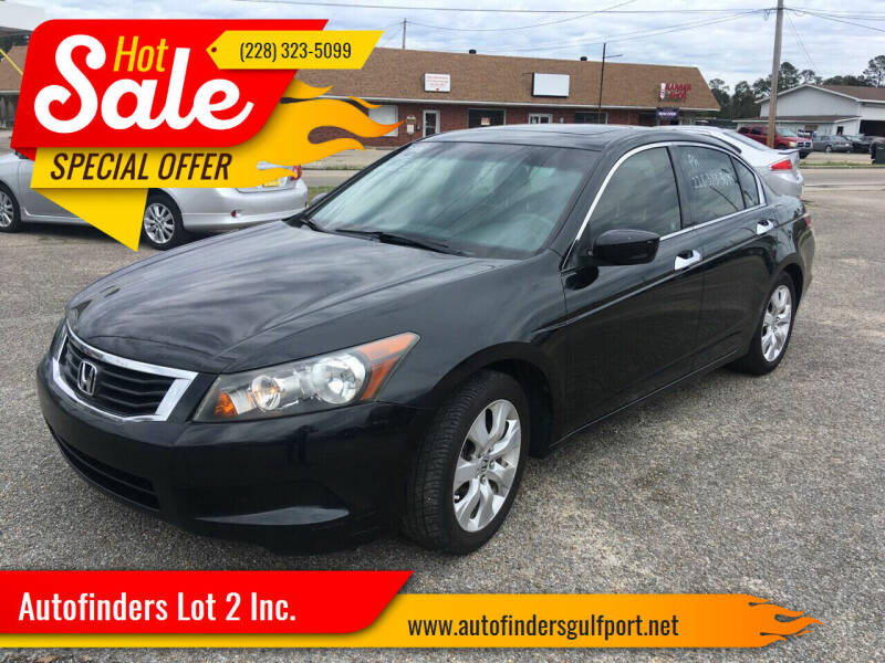 2008 Honda Accord for sale at Autofinders in Gulfport MS