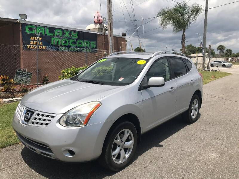 2009 Nissan Rogue for sale at Galaxy Motors Inc in Melbourne FL