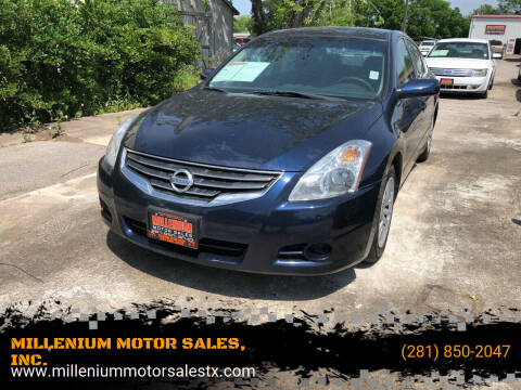 2012 Nissan Altima for sale at MILLENIUM MOTOR SALES, INC. in Rosenberg TX
