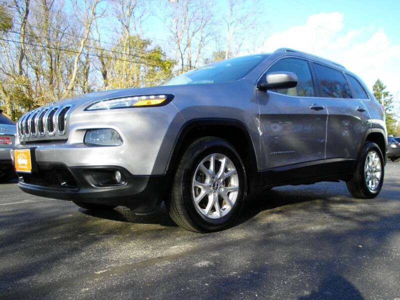 2015 Jeep Cherokee for sale at Auto Brite Auto Sales in Perry OH