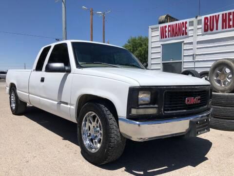 1998 GMC Sierra 1500 for sale at Eastside Auto Sales in El Paso TX