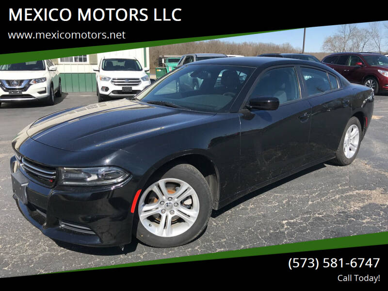 2016 Dodge Charger for sale at MEXICO MOTORS LLC in Mexico MO