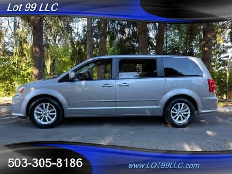 2013 Dodge Grand Caravan for sale at LOT 99 LLC in Milwaukie OR