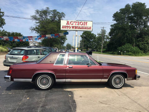 1983 Ford LTD Crown Victoria for sale at Action Auto Wholesale in Painesville OH