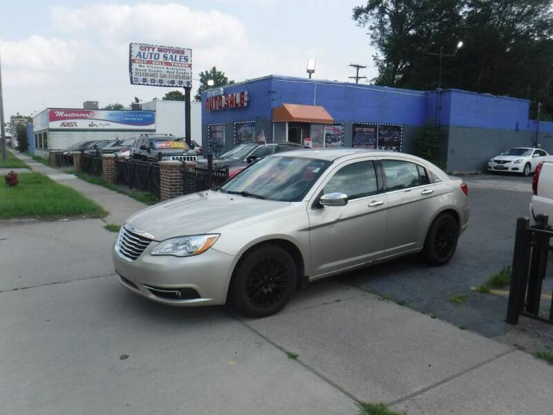 2014 Chrysler 200 for sale at City Motors Auto Sale LLC in Redford MI