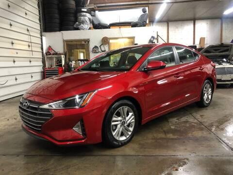 2020 Hyundai Elantra for sale at T James Motorsports in Gibsonia PA