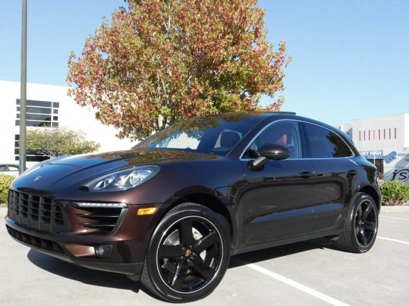 2015 Porsche Macan for sale at Conti Auto Sales Inc in Burlingame CA