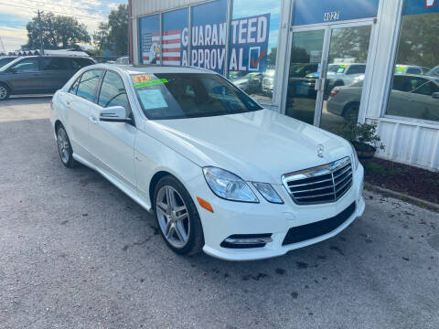 2012 Mercedes-Benz E-Class for sale at Lee Auto Group Tampa in Tampa FL