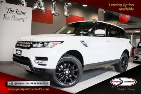 2015 Land Rover Range Rover Sport for sale at Quality Auto Center of Springfield in Springfield NJ
