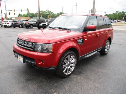 2013 Land Rover Range Rover Sport for sale at Windsor Auto Sales in Loves Park IL