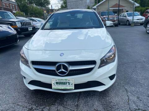 2015 Mercedes-Benz CLA for sale at Murrays Used Cars in Baltimore MD